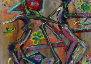 2012-03-10-Nr-27_Herzkînig-Herzdame 80x100cm