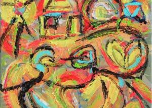2014-03-10-Nr-04_Happy love street 50x50cm (verkauft)
