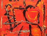 03_Flushing red 100x100cm